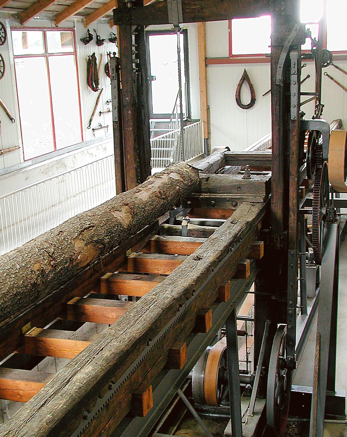Historische Gattersäge | Technik Museum Sinsheim